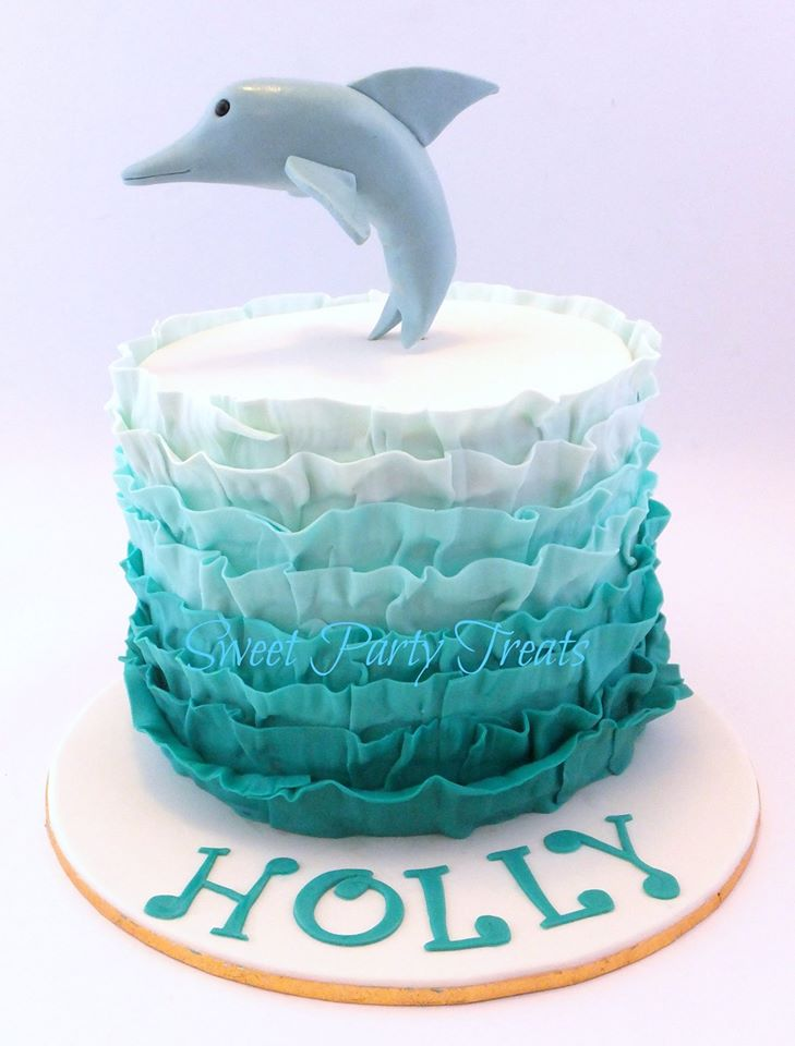 Dolphin Cake Sweet Party Treats
