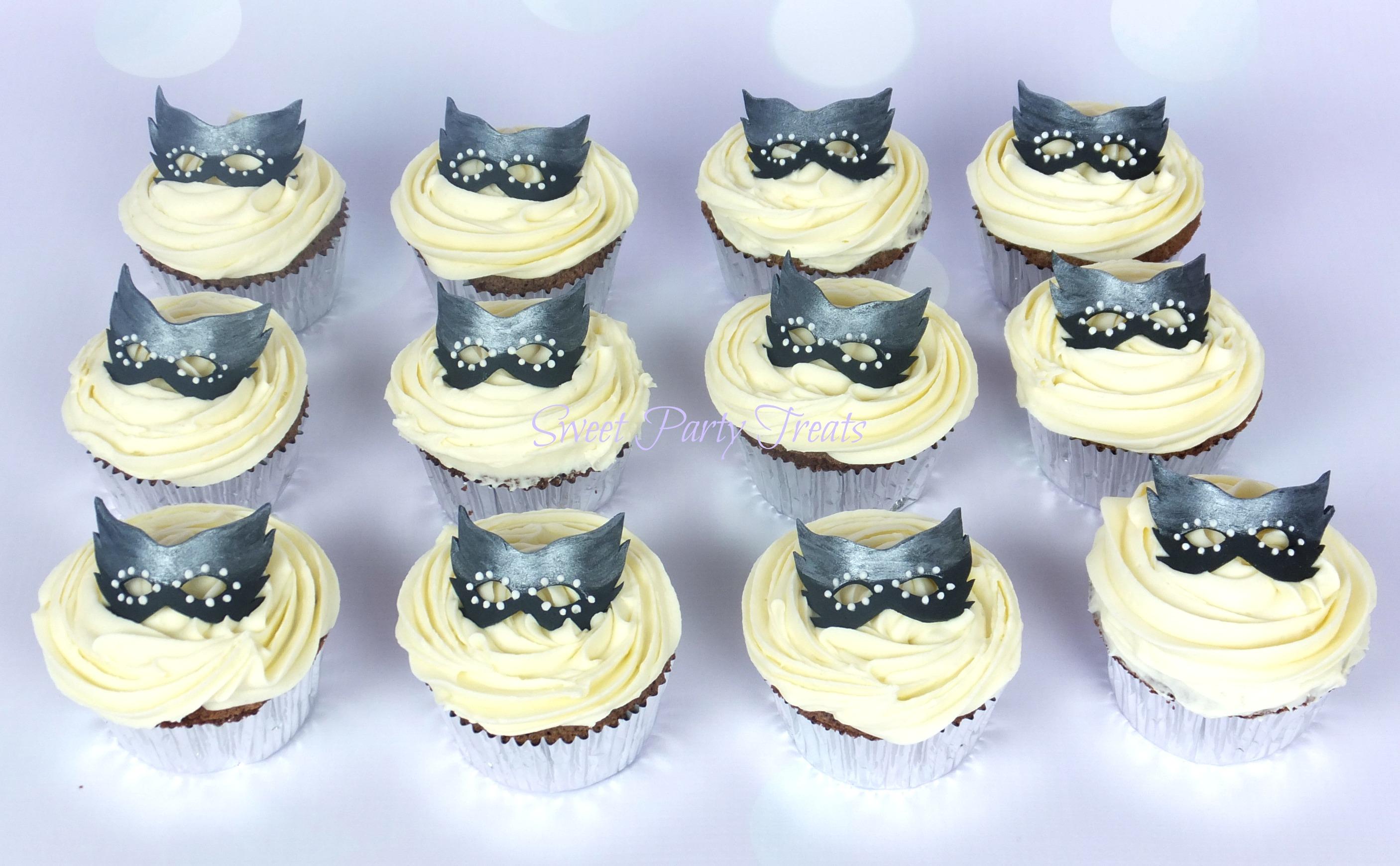 Masquerade Cupcakes Sweet Party Treats
