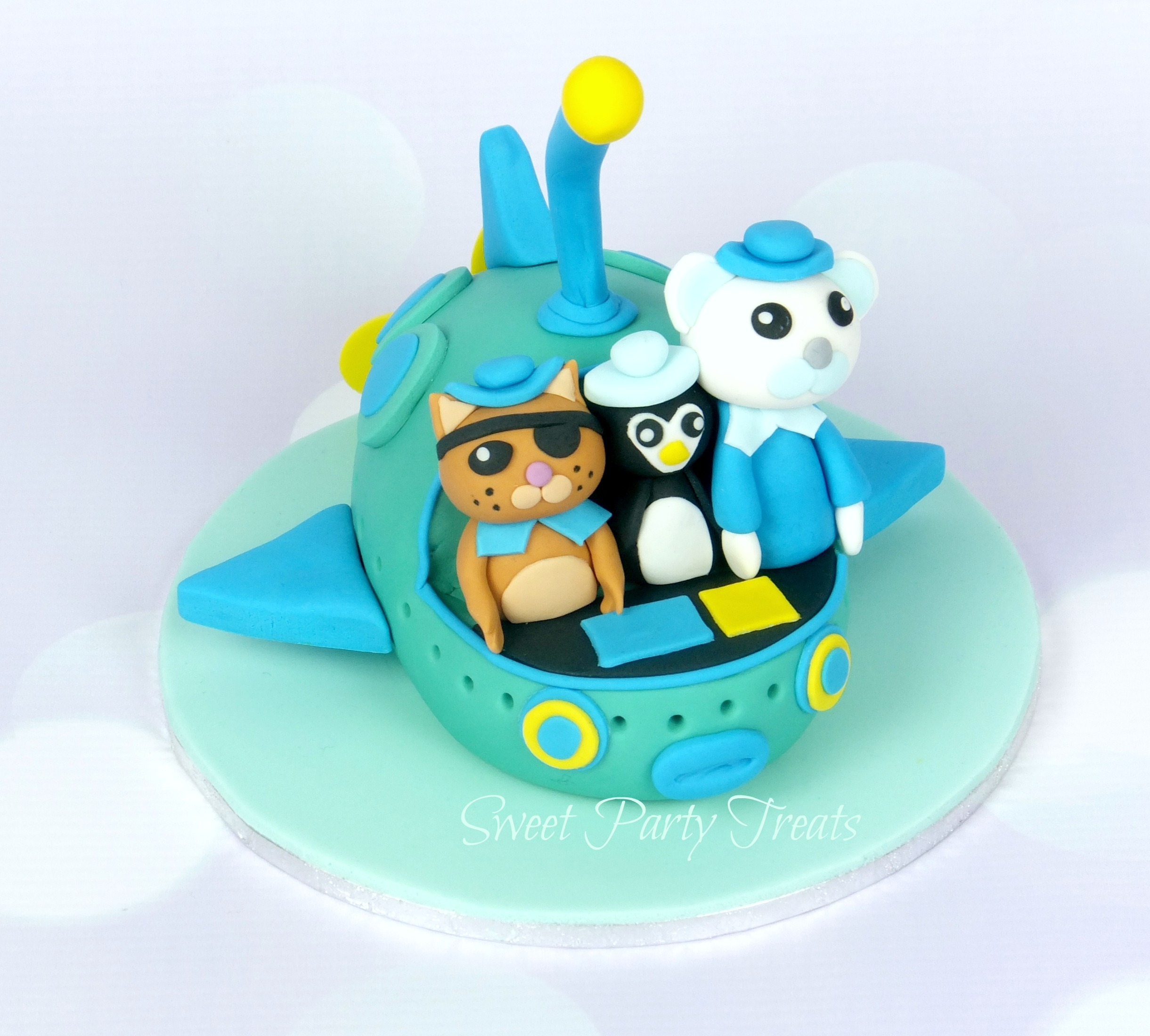 Octonauts Cake Topper Sweet Party Treats