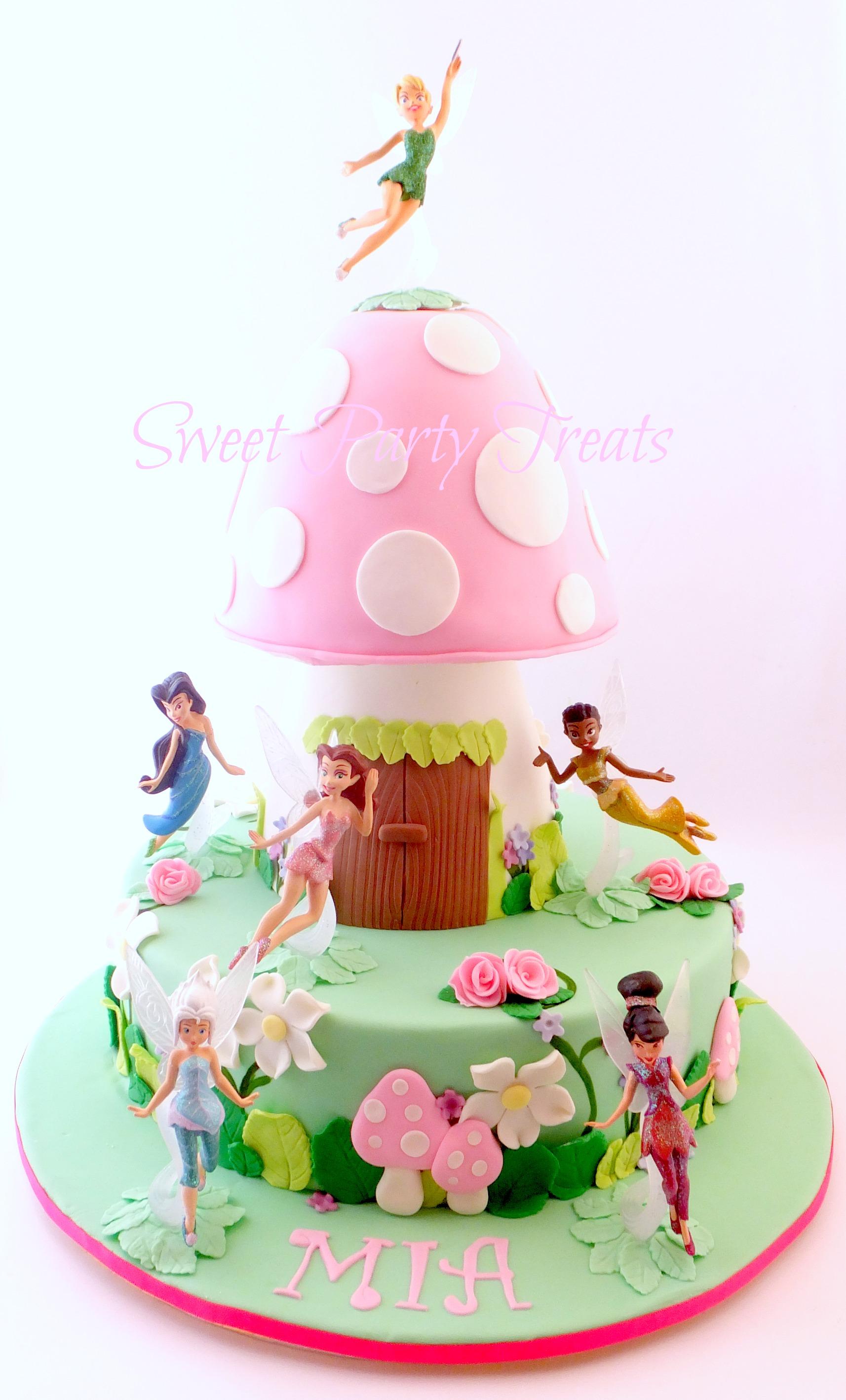Fairy Princess Cake   Sweet Party Treats